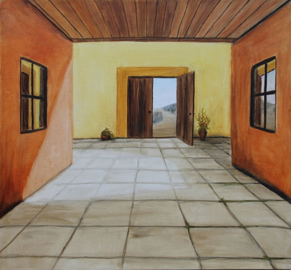 Napa Valley - 2011, oil on canvas, 80 x 72 cm.
